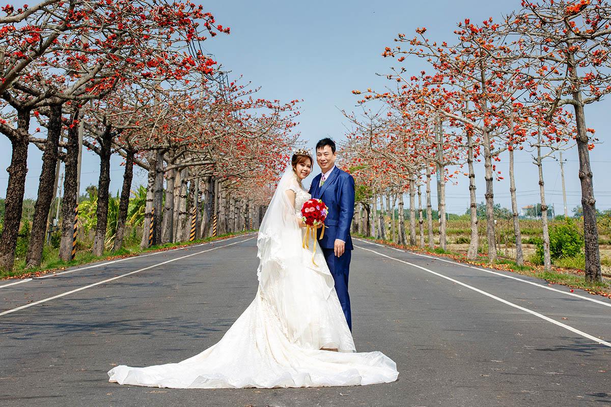 南部婚攝,婚禮紀錄,推薦婚攝,婚禮習俗,台南木棉花道